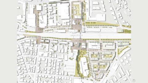 Hosoya Schaefer Architects Urban Design Bahnstadt Nürtingen Masterplan